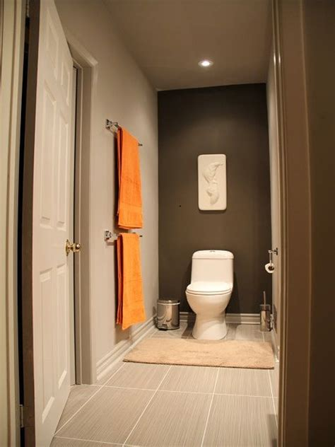orange and gray bathroom ideas 25 best ideas about orange accent walls on pinterest