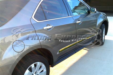 2017 Toyota Highlander Side Molding Installation by 2014 2017 Toyota Highlander 4pc Chrome Flat Side