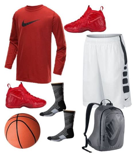 basketball clothes and shoes quot basketball quot by aliya ramon on polyvore featuring