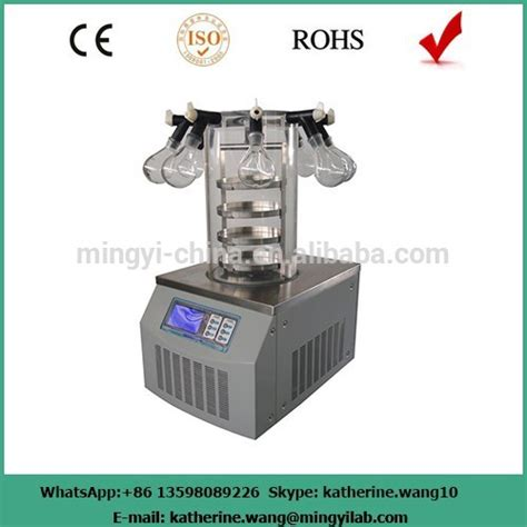 bench top freeze dryer bench top vacuum freeze dryer with ce confirmed buy vacuum freeze dryer laboratory