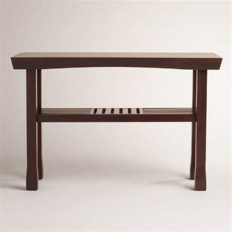 world market sofa table hako console table world market