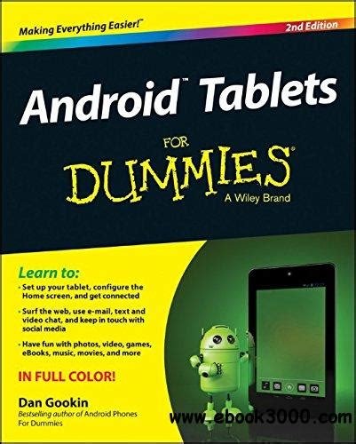 Free Ebooks For Android Tablets   android tablets for dummies 2nd edition free ebooks