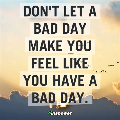 a bad so you ve had a bad day