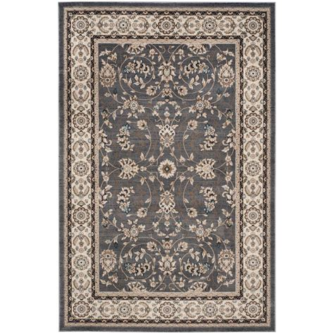 8 x 12 area rug safavieh lyndhurst gray 8 ft 11 in x 12 ft area rug lnh340g 9 the home depot