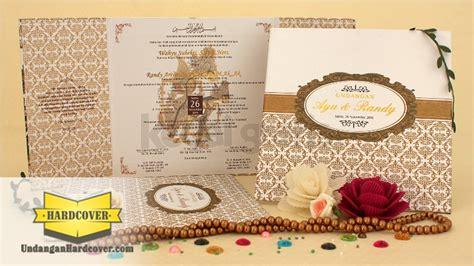 Undangan Single Hardcover Emboss Hotprint Floral undangan pernikahan kartu undangan undangan unik