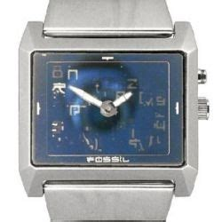 Fossil 107 Blue fossil jr8539 stainless steel watchallure