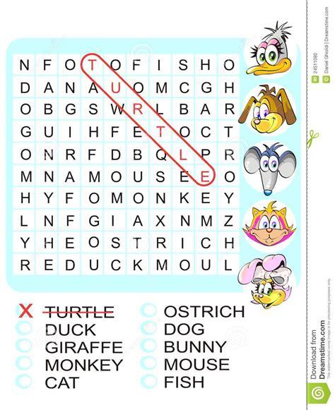 parole con nove lettere gioco di ricerca di parola trovi i nove animali