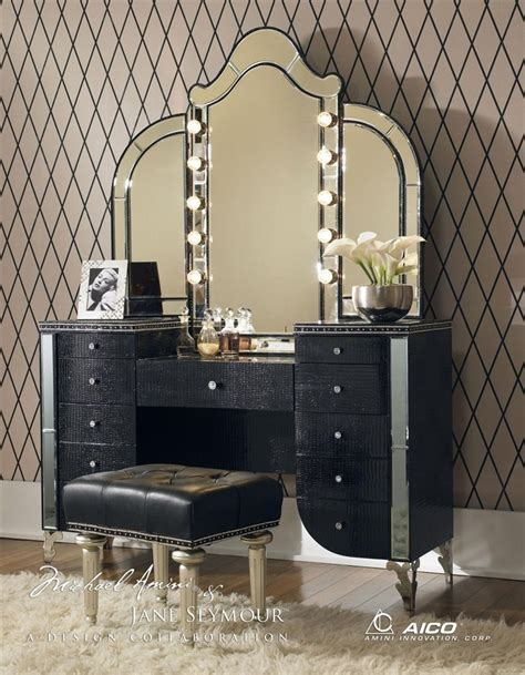 Lighted Makeup Vanity Sets by Vanity Table With Mirror Vanity Tables Galore And