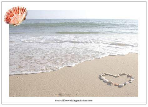 beach wedding invitation background invitation librarry