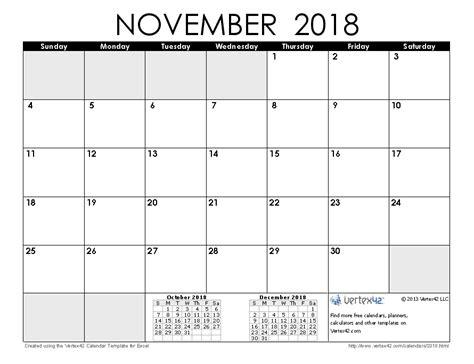 printable calendar 2018 vertex 2018 calendar templates and images