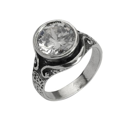 shablool oxidized solid 925 sterling silver rings s