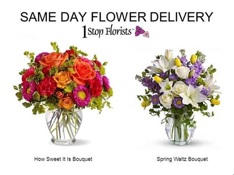 same day flower delivery send online fast
