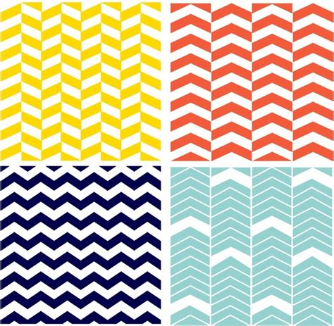 pattern vector ai four seamless chevron patterns free vector in adobe