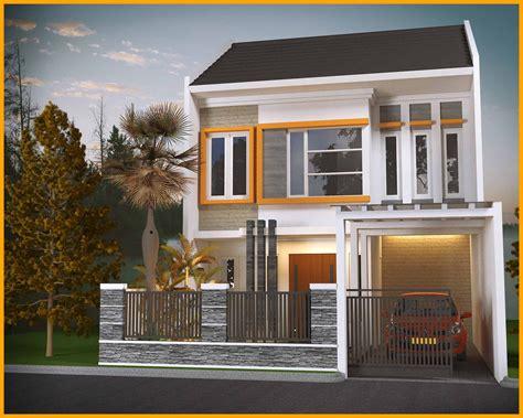 desain rumah sederhana terlihat cantik mewah