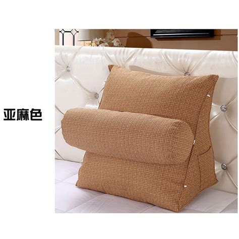 adjustable sofa bed chair rest neck support back wedge cushion fippillow as ebay
