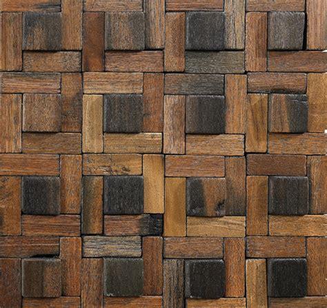 mosaic wood pattern wood mosaic tile pattern dotted square box of 10 sheets