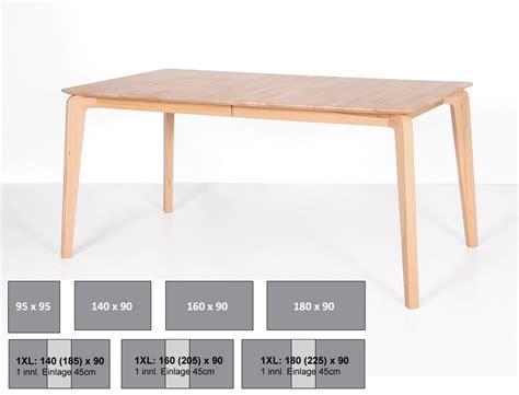 esstisch 140x80 ausziehbar hochwertiger esstisch linao a tisch oder ausziehbar