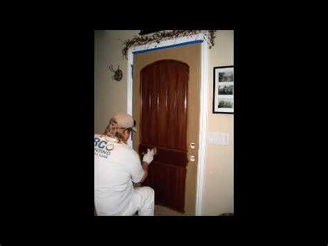 How To Stain A Fiberglass Door by Gel Stain A Fiberglass Door