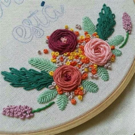 Handmade Embroidery Stitches - 560 best wool embroidery images on brooches