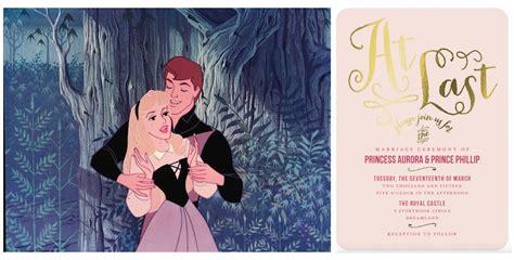 princess wedding invitation cinderella inspired wedding invites plus 6 more disney princess options inc maglove