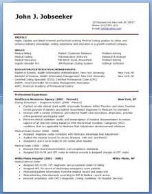 sle billing and coding resume template