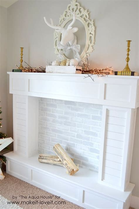 Faux Fireplace by 25 Best Ideas About Faux Fireplace On Fireplace Faux Mantle And