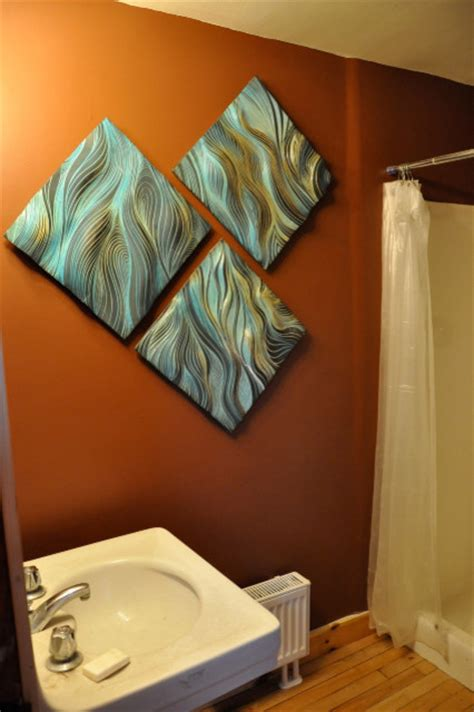 bathroom decor ceramic tiles bathroom wall decor ceramic wall art tile bathroom boston by natalie blake