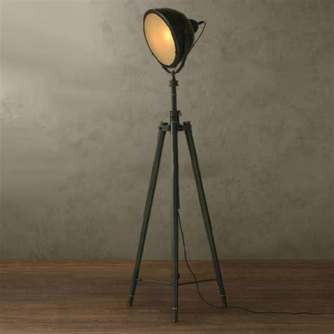 Shell Sconce Nurham Industrial Matte Glass Shade Heavy Metal Floor Lamp