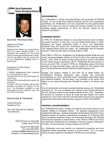 Professional Bio Template Cyberuse Business Bio Template
