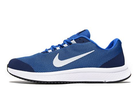 jd nike running shoes lyst nike run all day in blue for