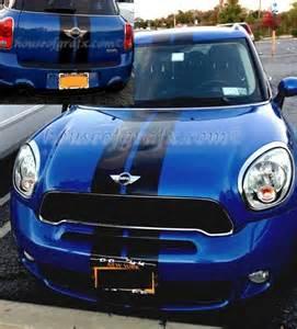 Mini Cooper Rally Stripes 2 Color Mini Cooper S Rocker Panel Decals Graphics Stripes