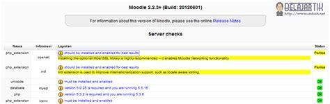 Cd Tutorial Cara Koneksi Php Ke Mysql moodle kegunaan dan instalasi informasi dan ku