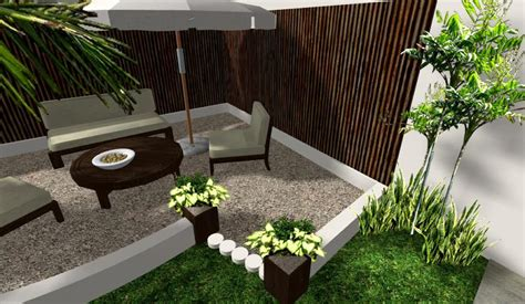 dise帽o de patios y jardines creativo escalera interior patio