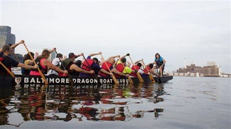 dragon boat baltimore feeling the fire with the baltimore dragon boat club
