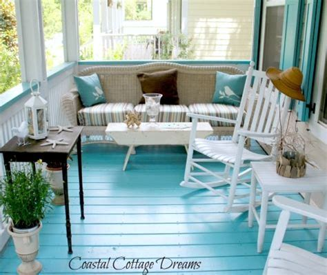 Cottage Painted Floors Painted Porch By Coastal