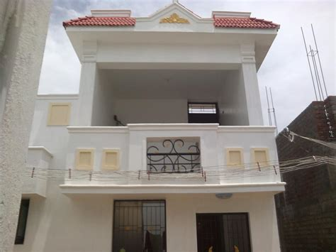 Kerala Home Design Duplex 2 bhk individual house home for sale in singanallur