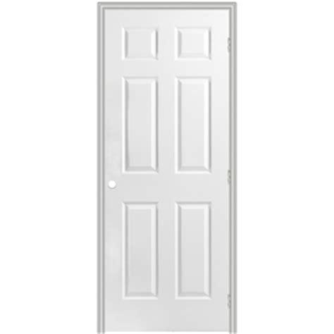 30 X 78 Prehung Interior Door Shop Reliabilt Prehung Hollow 6 Panel Interior Door Common 30 In X 78 In Actual 31 5 In
