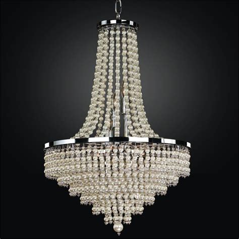 Pearl Chandelier Empire Style Chandelier Cava 639 Glow Lighting Chandeliers