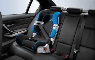 bmw genuine baby child kid safety junior car seat black