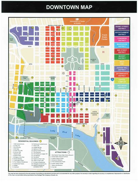 texas map downtown downtown map my