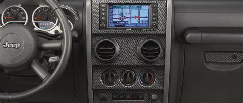 Jeep Wrangler Interior Trim Kit Mopar 174 82210120 Interior Trim Appliques In Carbon Fiber