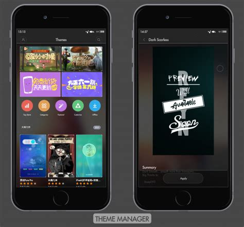 theme manager apk xiaomi dark scareless theme manager design xiaomi tips