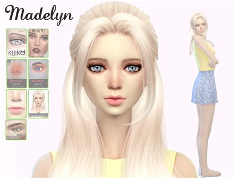 sims 4 custom hair tumblr sims 4 custom content finds jsboutique download madelyn