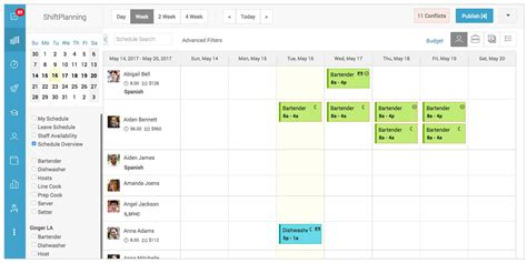 pattern analysis for scheduling shift schedules for 24 7 coverage planner template free