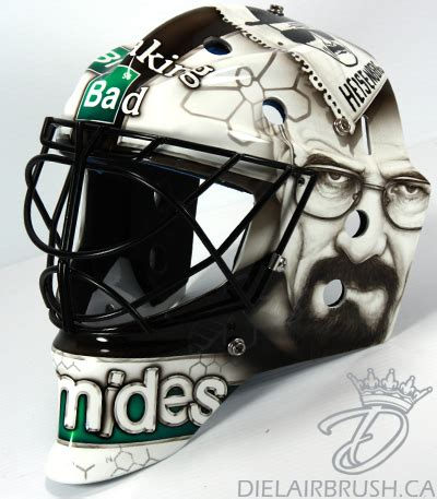goalie mask painting template diel airbrush