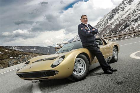 The Creator Of Lamborghini Lamborghini Icon And Creator Of The Miura Paolo Stanzani