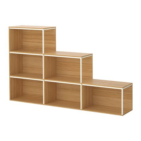 best ikea ikea ps 2014 storage combination with top bamboo white
