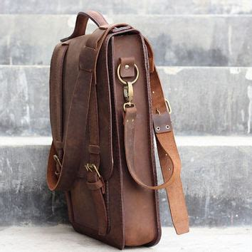 Handmade Leather Satchel Bags - handmade leather satchel chocolate from joojoobs on etsy