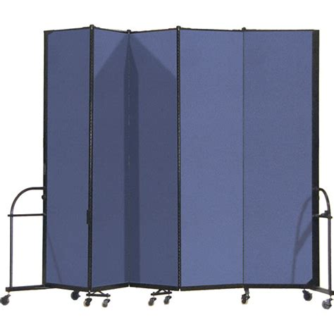 portable room divider screenflex hfsl745 7 4 quot heavy duty portable room divider