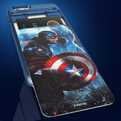 Casing Soft Captain America Marvel For Iphone 6 6s shop marvel captain america civil war i slide for iphone 6 s 6 s plus zoarah